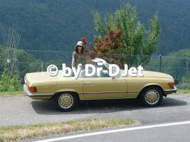 Mein erstes D-Jetronic Fahrzeug, ein 450SL von 1973