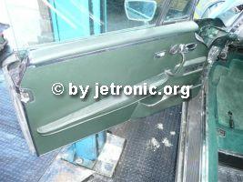 Tür zerlegen MB W111 280 SE/Cab