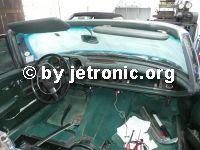 Weiterlesen: MB W111 Coupé/Cabrio - Armaturenbrett ausbauen