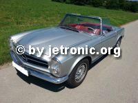 Weiterlesen: Pagode mit M116 V8 Motor und D-Jetronic