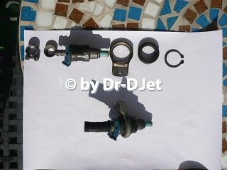 Disassembled injector