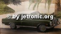 Weiterlesen: Der Frosch - ein W111 280 SE Hochkühler Cabrio